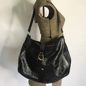 KATE SPADE PATENT LEATHER HOBO